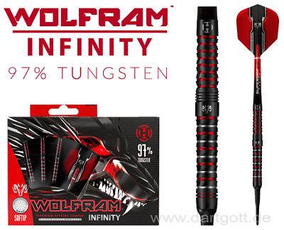 Harrows Infinity Soft Dart NEUHEIT 18 oder 20 gramm Dartpfeile mit 97% Tungsten (18 Pfeile)