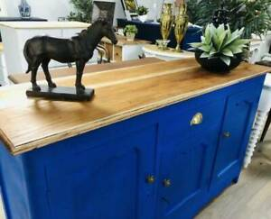 Royal Blue Hampton's Style Buffet