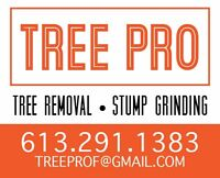 TREE PRO RELIABLE INSURED 613 291 1383