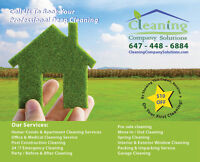 RESIDENTIAL PROFESSIONAL DEEP CLEANING