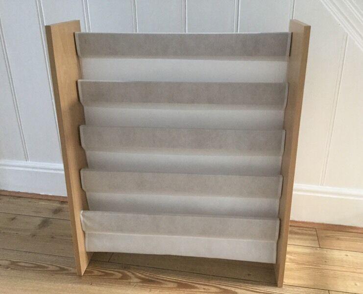 Beech Effect White Sling Bookcase