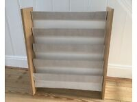 Beech Effect White Sling Bookcase