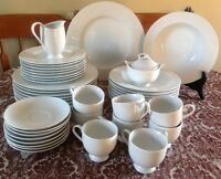 Mikasa Japan Classic Flair White dinnerware for 8 persons
