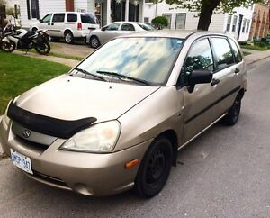 2003 Suzuki Aerio SX manual