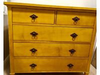 Full wood chest of drawers