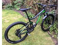 GIANT TRANCE ADVANCED 1 CARBON 2015 MOUNTAIN BIKE MEDIUM/LARGE