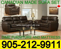 NO TAX 3PCS CANADIAN MADE SOFA SET