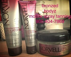 Sunless Products & Mobile Spray Tanning