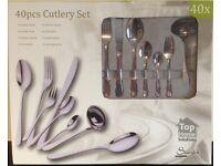 40pcs Cutlery Set