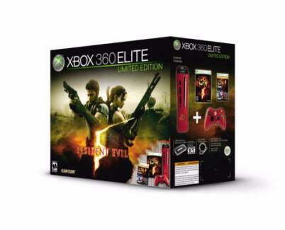 Limited Edition Xbox 360 Elite Red Console Lakemba Canterbury Area Preview