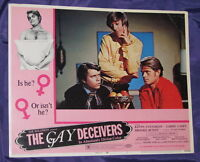 ORIGINAL GAY CLASSIC THE GAY DECEIVERS 1969 LC