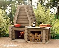 Foyer au bois exterieur acheter et vendre dans qu bec for Foyer exterieur a donner