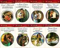Various harlequin erotic books