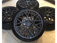 "19"" ROTIFORM BLQ STYLE ALLOY WHEELS 5x112 VW GOLF GTI GTD MK6 MK7 BBS MERCEDES VITO CADDY EOS T4 T5"