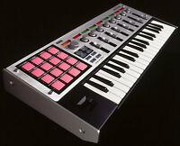 Korg MicroKONTROL midi keyboard controller - with flight case