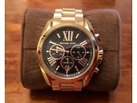 Michael Kors Gold Bradshaw Watch - As new condition
