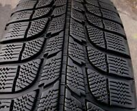 PAIR - 235 75 15 - MICHELIN XICE - SNOW TIRES - x2 - LIKE NEW!