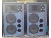 Monster JBL Sound Power speakers ex Hacienda