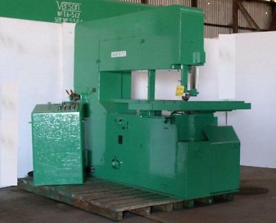 64 Tannewitz Model 60mh Vertical Band Saw