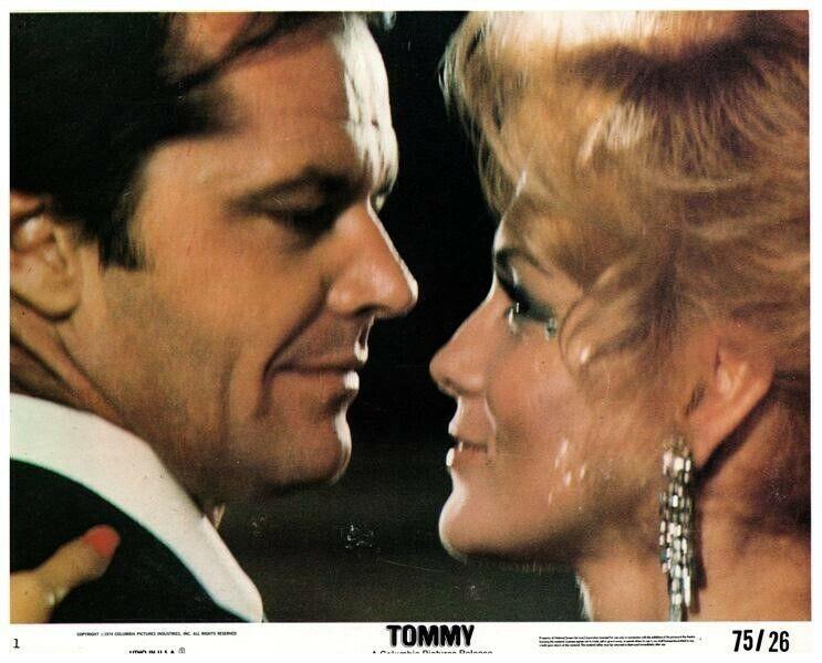 Tommy Original US Lobby Card Jack Nicholson Ann-Margret The Who 1975