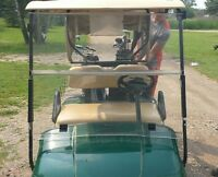 windshield for golf cart as shown