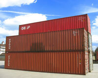 Excellent Shape Used Shipping and Storage Containers