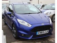 Ford Fiesta 1.6T ECOBOOST ST-3 (blue) 2016