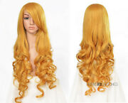 Yellow Blonde Cosplay Wig Long