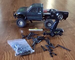 Custom RC Axial SCX10 rock crawler