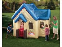 Little Tykes inflatable house