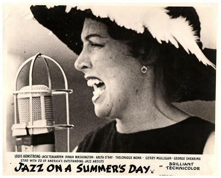 Jazz on a Summers Day Original Lobby Card Anita O
