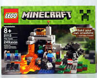 NEW LEGO MINECRAFT SET 21113 - THE CAVE - 249 PIECES - SEALED