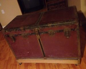 BIG ANTIQUE TRUNK