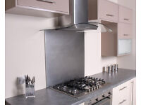 For sale: Brushed Stainless Steel Kitchen Cooker Splashback 700 mm (70 cm) High
