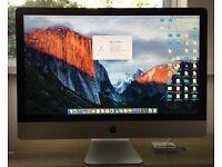 "Apple iMac 27"" 3.2 GHZ 8GB RAM 1TB HDD"