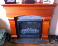 NON-WORKING ELECTRIC FIREPLACE