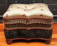 Stunning Ottoman by Bombay Co.