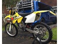 Suzuki rm 125 road legal