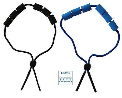 Schwimmband / Brillenband in blau oder schwarz für Wassersportler