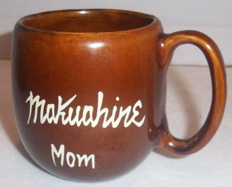 Hawaii Tiki Mug KavaCraft MUKUAHINE Mom Coffee Cup Souvenir Pineapple Aloha