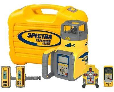Spectra Laser Ul633n Grade Pipe Laser 2 Hl760 Receivers