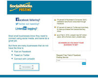 ** IS YOUR FACEBOOK FALTERING?  PROFESSIONAL POSTING SERVICE