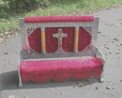 Vintage Casket Kneeler, Catholic for Mortuary/Funeral Home