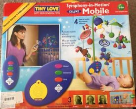 """Tiny Lover """"Symphony-in-Motion"""" Deluxe Mobile, for 0-5 months."""