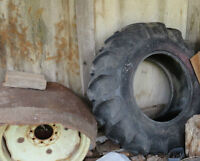tractor tire and rim  16.9-26