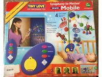 "Tiny Lover ""Symphony-in-Motion"" Deluxe Mobile, for 0-5 months."