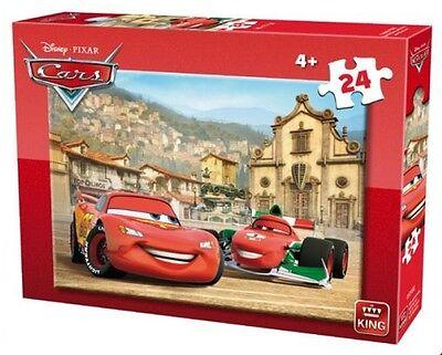 24 PIECE DISNEY CARS LIGHTNING MCQUEEN JIGSAW PUZZLE CHILDREN KIDS (4+) 05245B