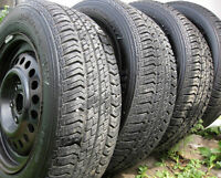 4 Motomaster All Weather AS 195/65/15, Excellent Tread 5X100 rms