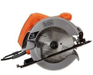 Black & decker circular saw 12 amp 7-1/4 in.