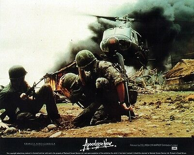 APOCALYPSE NOW lobby card FRANCIS FORD COPPOLA - mini UK card VIETNAM WAR